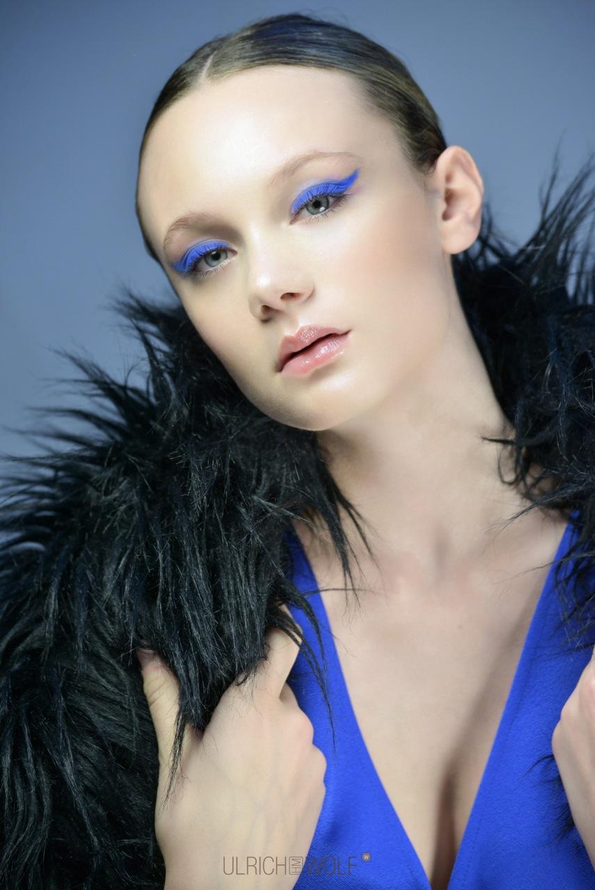 beauty makeup shooting editorial