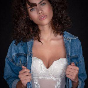 beauty photography sed card  makeup artist model closeup